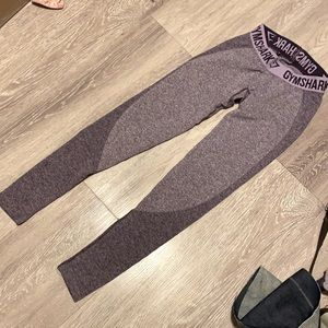 Gymshark Flex Leggings in Purple Marl size XS EUC